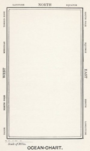 Ocean Chart from the novel
